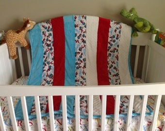 Made To Order Child's Cuddle Quilt Available In A Variety Of Colors And Patterns