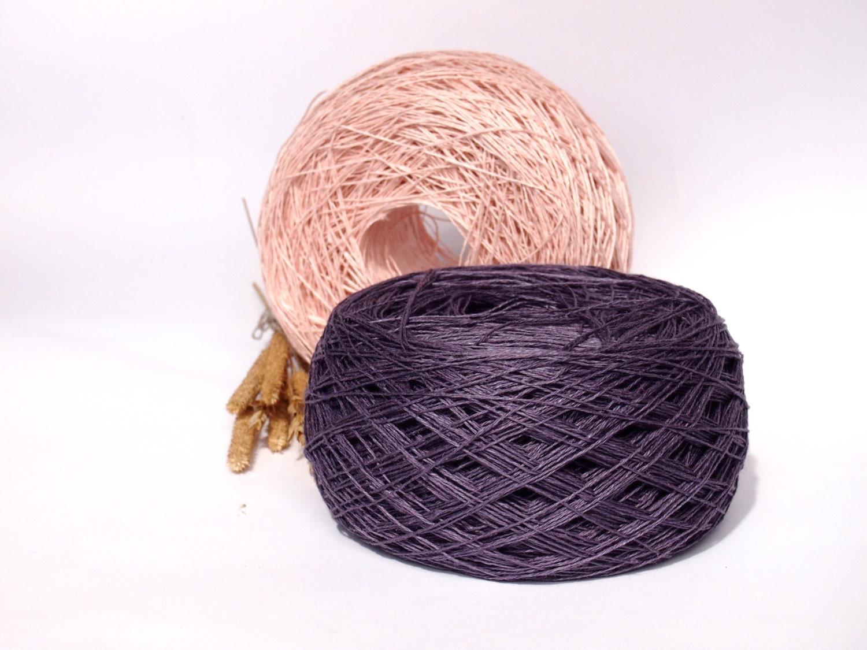 Linen Yarn : Linen Yarn High Quality Linen Yarn For Crochet by LinenSpirit