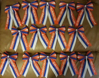 Softball bow personalized team order