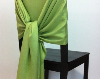 LIME PASHMINA, Lime Pashmina Scarf, Pashmina Shawl, Wedding Shawl, Pashmina Wrap, Bridesmaid Shawl, Wedding Favors, Chair Covers, Keepsakes