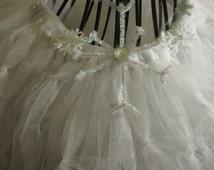 Shimmer Snowflake Child Tutu Set, Snowflake Tutu, Snowflake Costume, Winter Tutu, Winter Costume, Made To Order