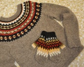 Best seller and a blue ribbon winner. Icelandic Sweater - MADE TO ORDER.