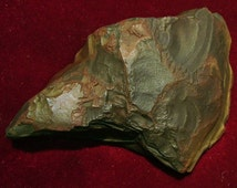 Authentic American Indian Artifact Steatite War Club