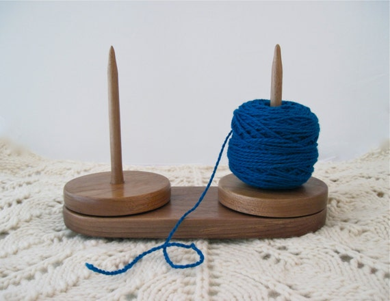Yarn Holder Knitting Pattern : Yarn caddy double yarn holder for knitting and crochet