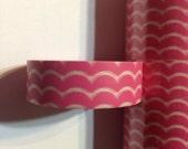 Pink Wave Washi Tape