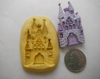 Princess Fairy Castle Silicone Flexible Mold