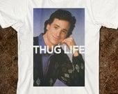 Bob Saget Thug Life Adult T-Shirt