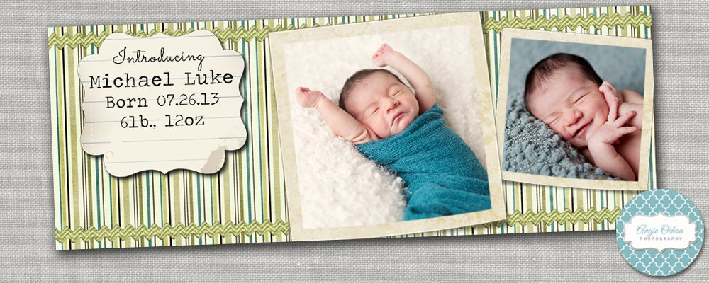 facebook timeline cover template birth announcement. Black Bedroom Furniture Sets. Home Design Ideas