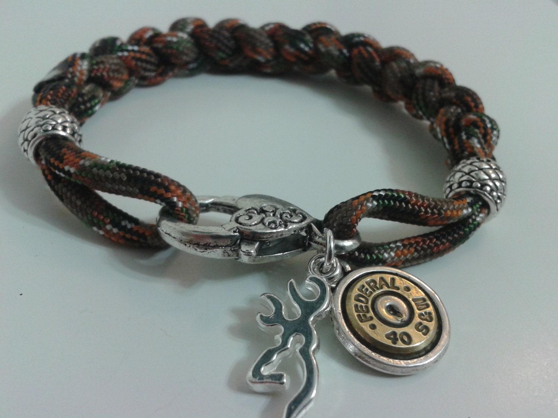browning camo paracord bracelet