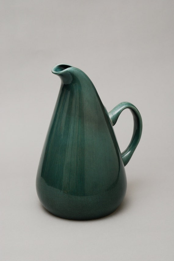 Russel wright american modern water pitcher seafoam - Russel wright pitcher ...