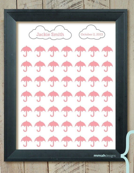 bridal baby shower guest book alternative showers of love