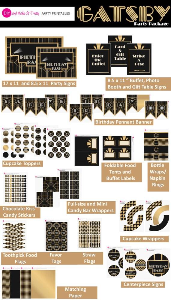 Gatsby Invitation Template Free as luxury invitations design
