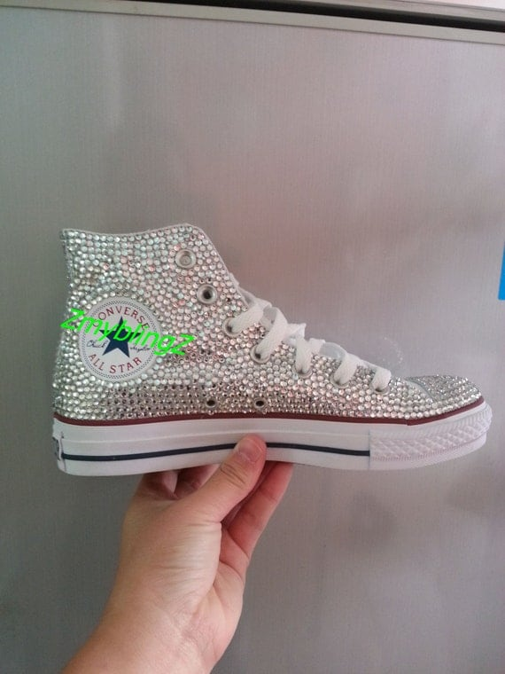 Bling Converse Wedding Shoes Wedding Converse Shoes