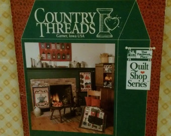 Country Threads  Garner, Iowa USA by Mary Tendall and Connie Tesene