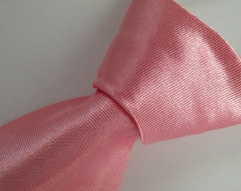 Light Pink Tie Baby Tie Pink Boys Tie Baby Toddler/ Boy Tie Wedding Baptism Birthday ddler neck tie - baby boy necktie - newborn