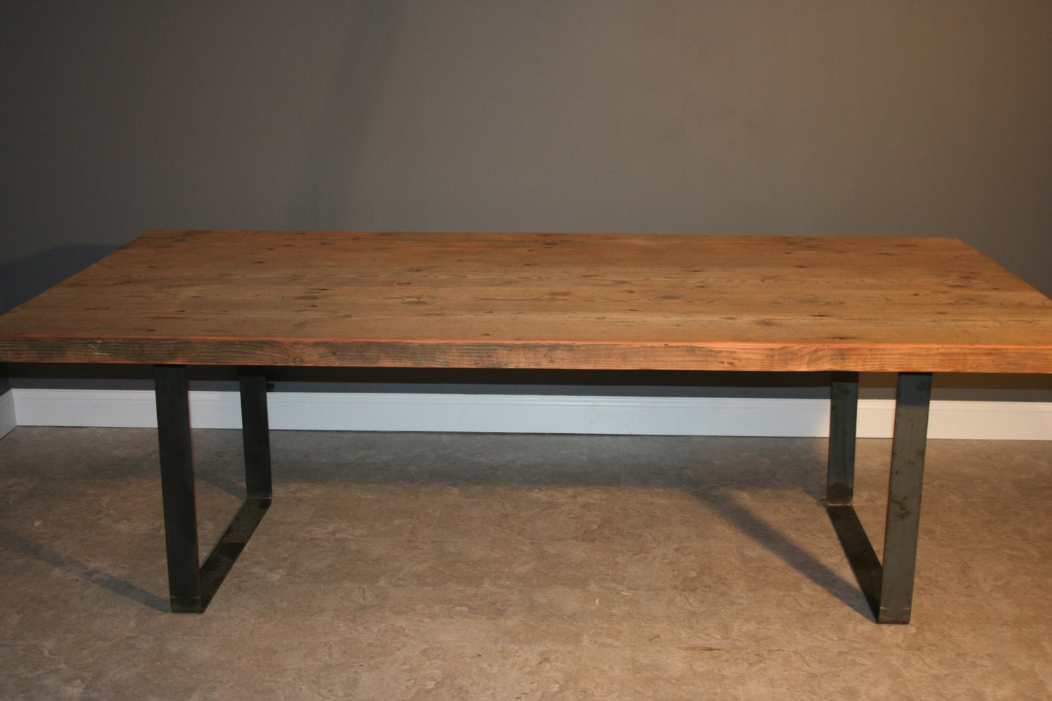 Modern And Reclaimed Wood Dining Table By Urbanwoodfurnishings