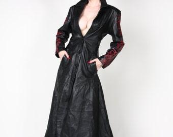 DEVIOUS LADIES LEATHER Trench Coat