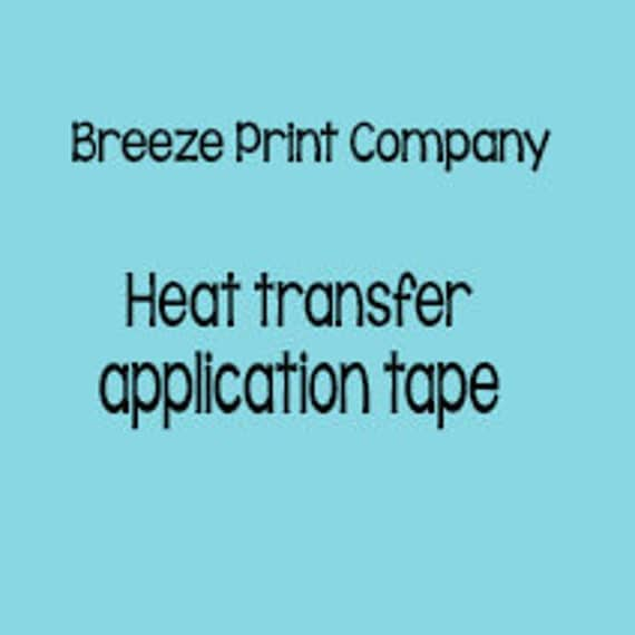 Siser Ttd Mask Heat Transfer Application Tape To Be Used With