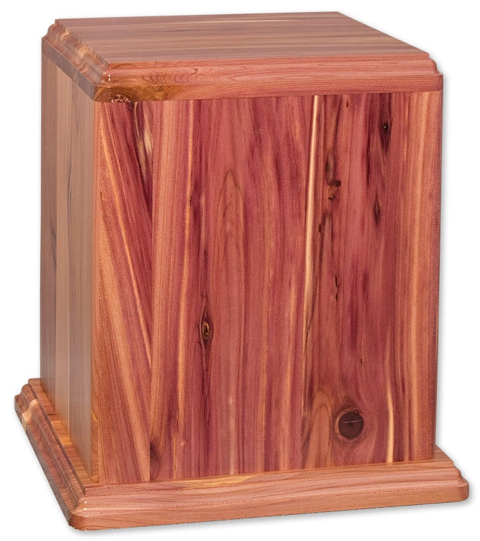 Cedar Newport Wood Cremation Urn