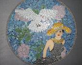 Stroll Through The Garden Mosaic