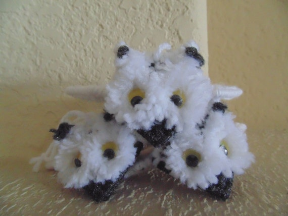 Snowy Owl Ornament Home Decor