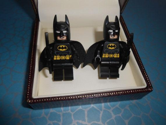 Batman Wedding Gift: Hand Made BATMAN Cufflinks Novelty Ideal By