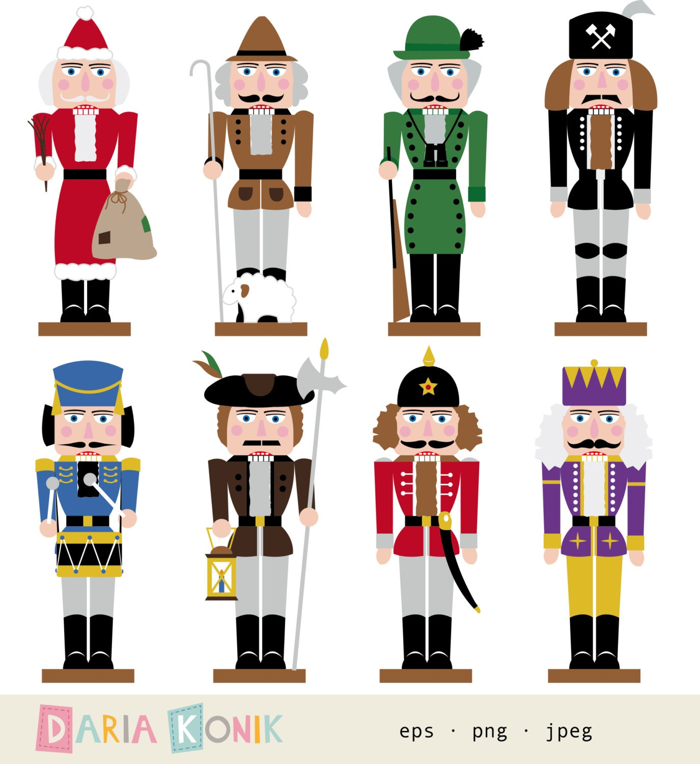 christmas nutcrackers clipart - photo #23