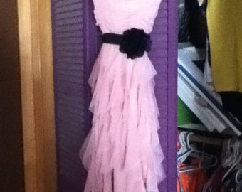 Rose Pink Prom Dress