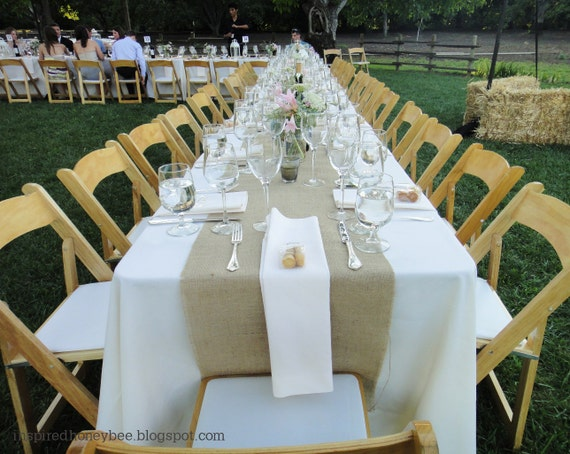 120 x 12 inch burlap table runners fit 8ft by for 120 inch table runner