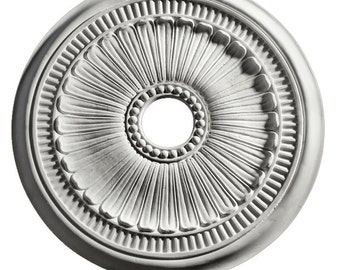 Fluted Round Ceiling Medallion-