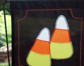 Candy Corn Garden Flag