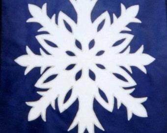 Snowflake - Full Size Flag
