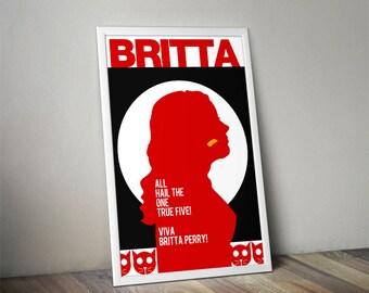 """Britta - Community - 11x17"""", 18x24"""", 24x36"""" print"""