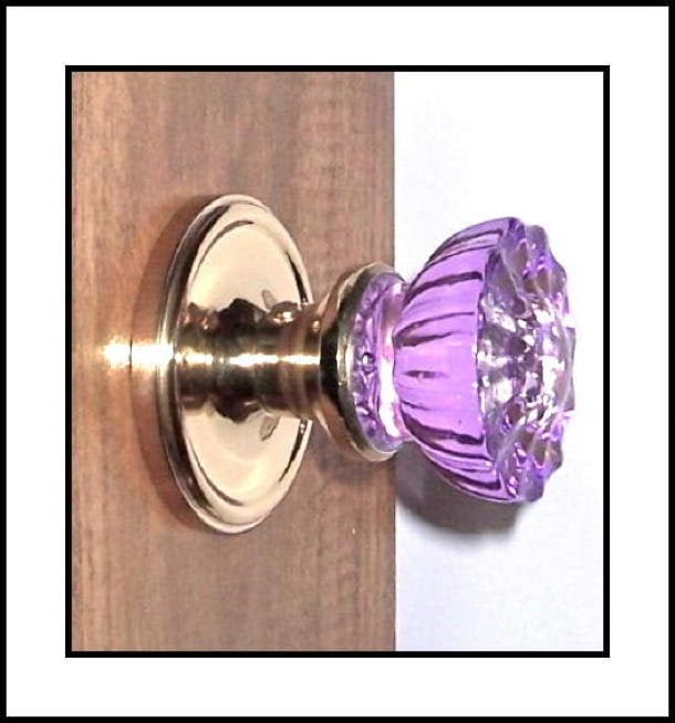Single Surface Mount French Door Dummy Knob By Roussodesigns