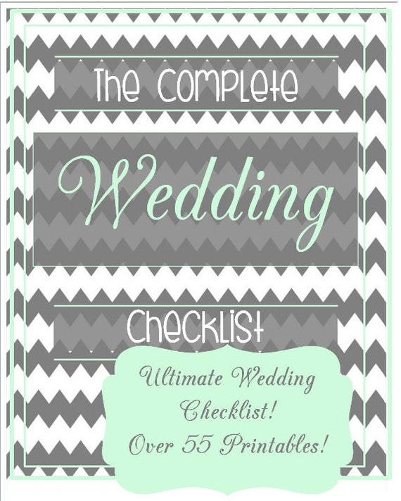 The Ultimate Nursery Decorating Checklist: Items Similar To Ultimate Wedding Planner