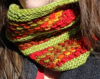 Bon Vivant (Knitted Cowl)  -INSTRUCTIONS ONLY-