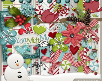 Winter Wishes Digital Scrapbook Kit