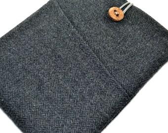 iPad Mini Case , iPad Mini 3 Cover , Padded iPad Mini 4 Case , iPad Mini Case- Herringbone