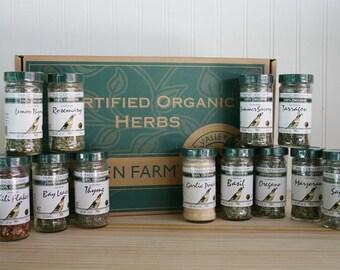 Organic Herb Gift Box - Large