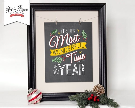 Christmas Grinch Quote 8 X 10 Digital Print Instant By: Christmas Wall Art // INSTANT DOWNLOAD // Retro Holiday