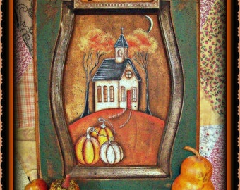 Only Believe Harvest Church - Painted by Martha Smalley, Painting With Friends E Pattern