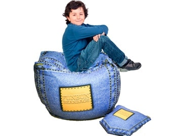 Fun bean bags ! Free shipping ! New ideal lots of fun this will become your child's favorite plush chair !!!!