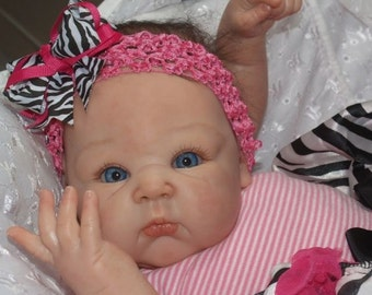 "CUSTOM Reborn Baby Girl or Boy Doll ""PARIS"" by Adrie Stoete"