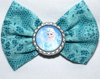 Disney Frozen Movie Inspired Hair Bow Bows Character Queen