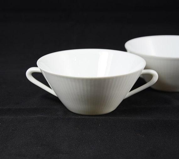 Vintage Seltmann Weiden Bavaria Monika White Porcelain Soup