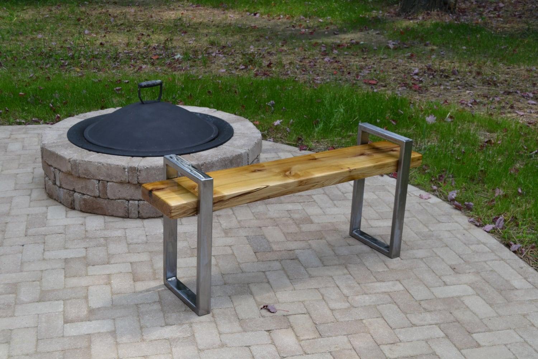 28 modern metal bench metal park bench outdoor