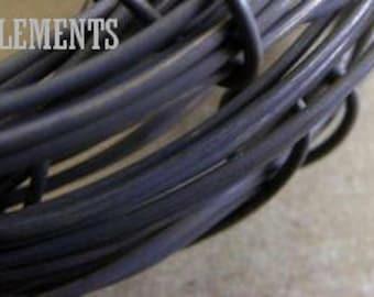 WIRE, 5 Feet 18ga Copper, Pure Dead Soft Copper, Hand Oxidized Wire, Craft Wire, Jewelry Supplies, Hardware, Artwear Elements