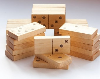 wooden domino, eco friendly toy, kids wooden toys