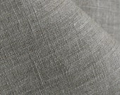 Pure Linen Fabric Natural Cloth Undyed Unbleached W 59 inch Medium Weight Eco-friendly - Custom yardage