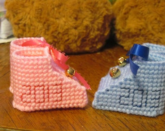 Baby Bootie Ornaments